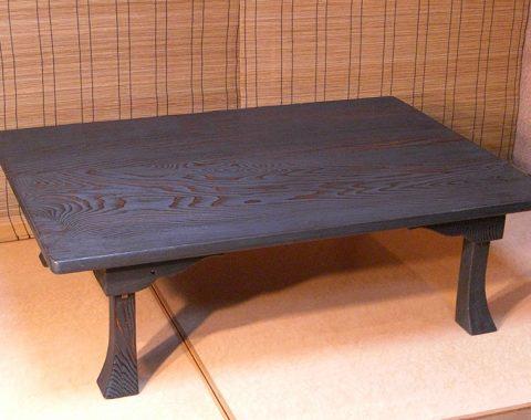江戸指物 座卓 杉時代3.5尺サムネイル